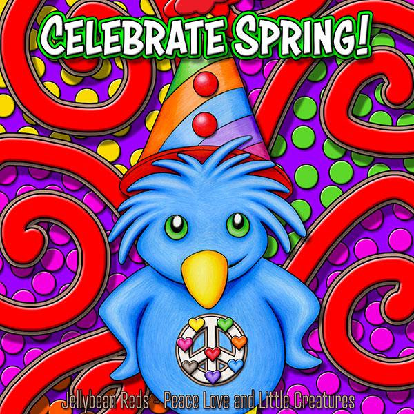 Party Bird - Celebrate Spring!