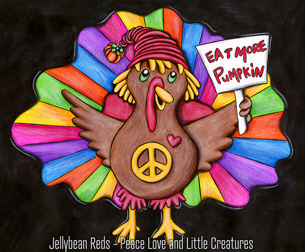 Eat More Pumpkin - Turkey