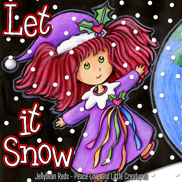Let it Snow - Festive Poppy