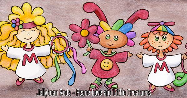 Three Little Creatures Spread Joy - Magic Revival