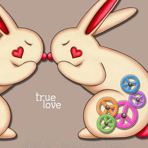 True Love - Clockwork Rabbits on Mocha