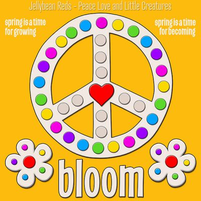 Blooming Peace Sign Collection