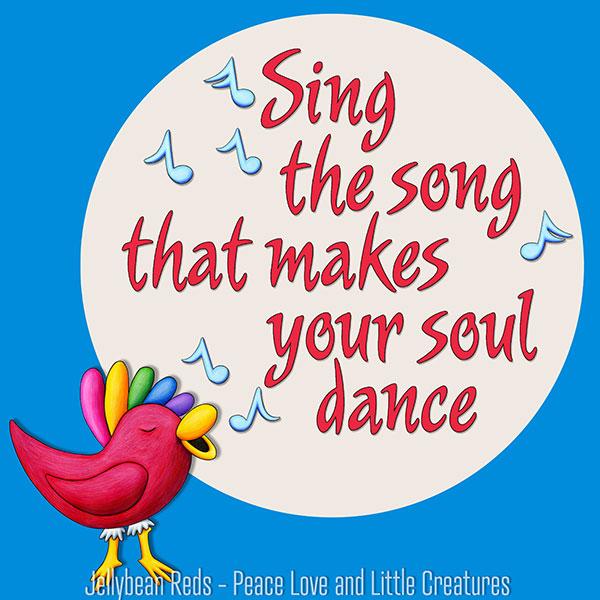 Little Red Bird Singing