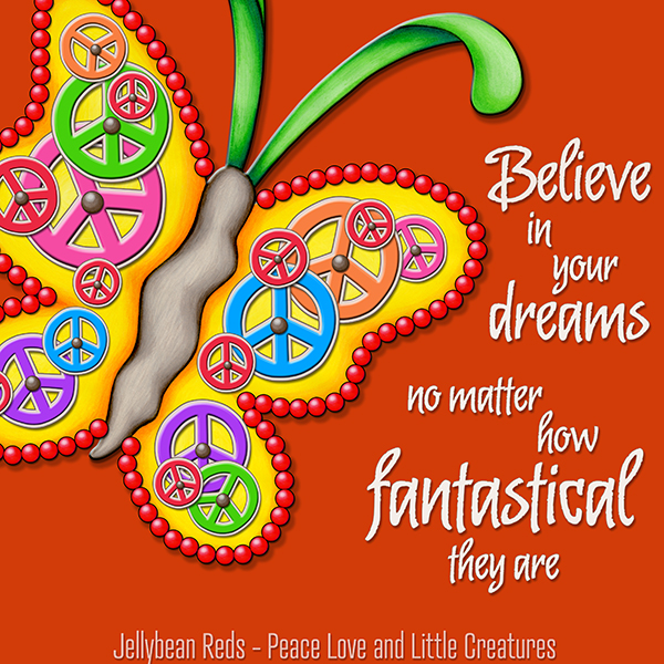 Believe in Your Dreams - Clockwork Butterfly