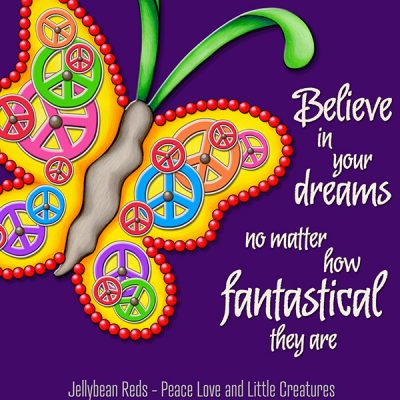 Believe in Your Dreams – Clockwork Butterfly Collection