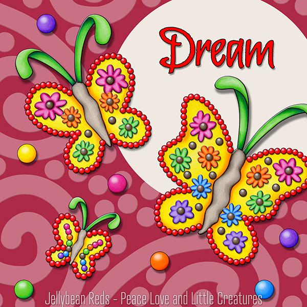 Dream - Gypsy Butterflies in Spotlight
