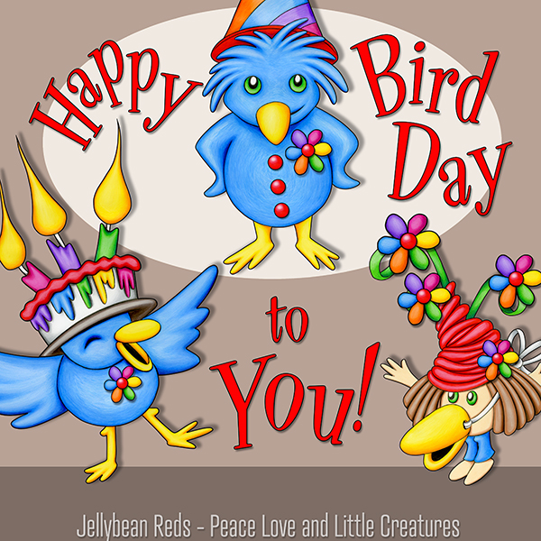 Happy Bird Day to You - Party Birds