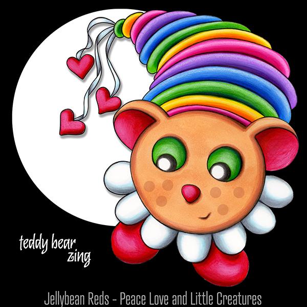 Teddy Bear Zing in Spotlight