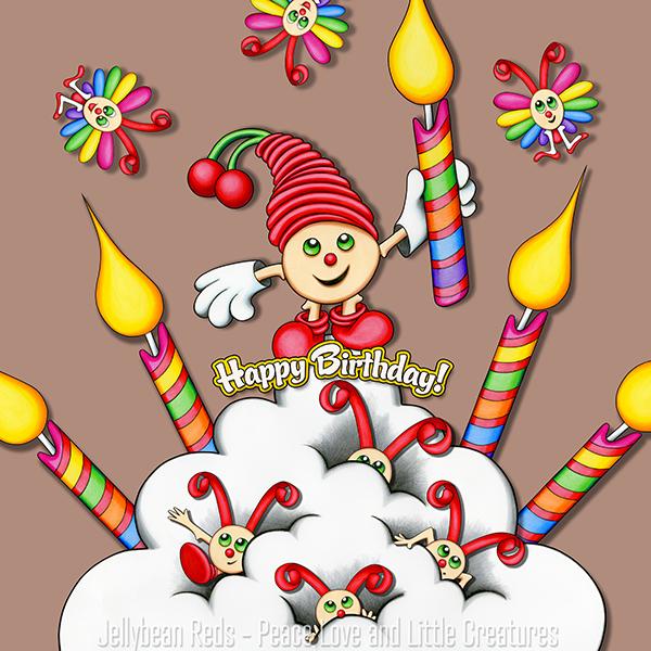 Cherry Bing's Birthday Bash - Happy Birthday