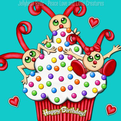 Cupcake Birthday Collection – No2