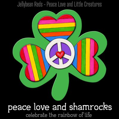 Rainbow Shamrocks – Colors of My Soul