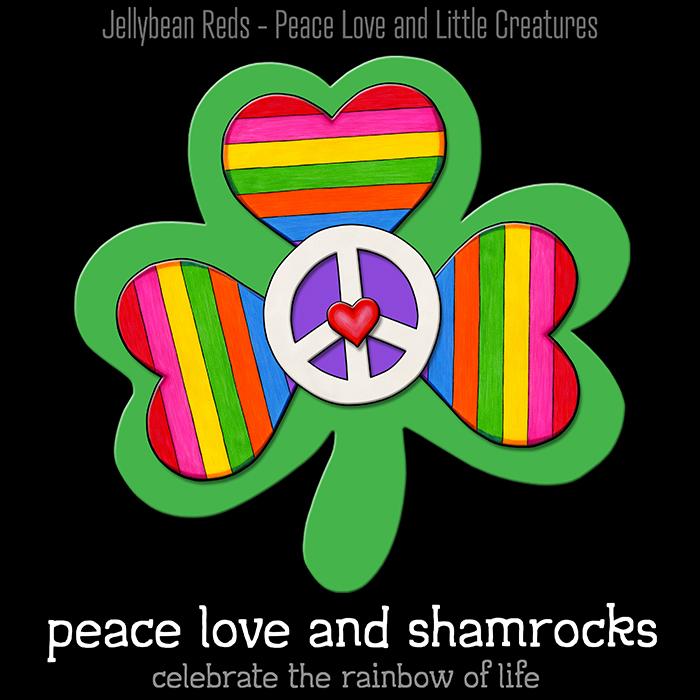Rainbow Shamrocks – Colors of My Soul