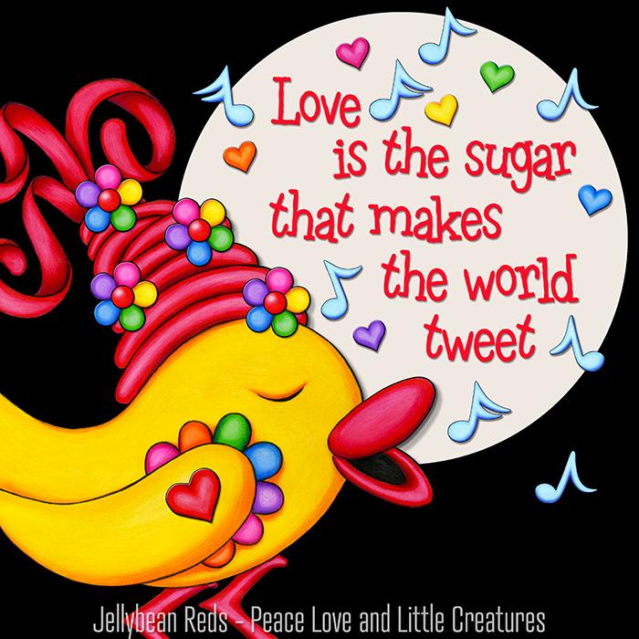 Love Makes the World Tweet