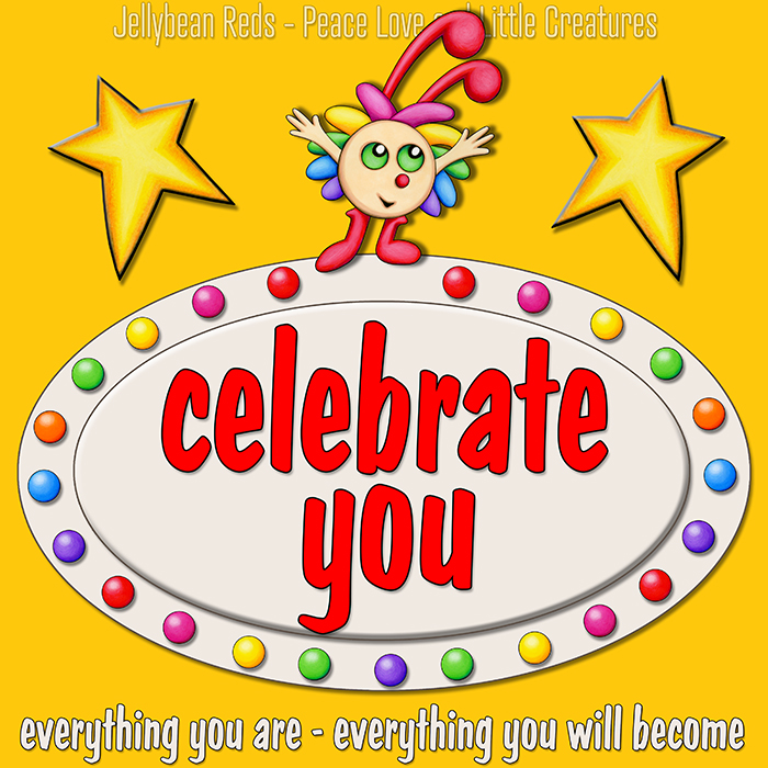 Celebrate You - Little Creature with Stars