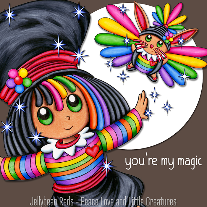 Magician Girl with Rabbit Zing - You're My Magic