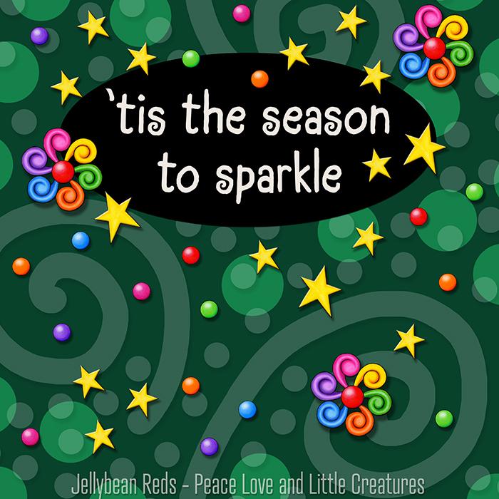 Festive Trinkets and Sparkling Lights