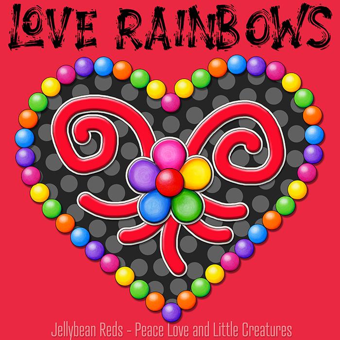 Bing Hearts – Love Rainbows – Night Collection